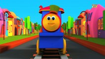 Bob, The Train | Learn Colors Song With Bob | Colors Song | Adventure with Colors | Colors