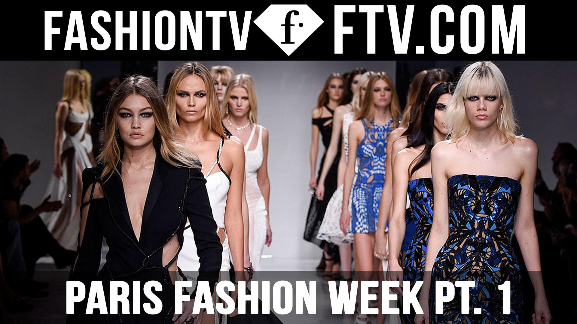 Paris Fashion Week Fall/Winter 2016-17 pt. 1   FTV.com