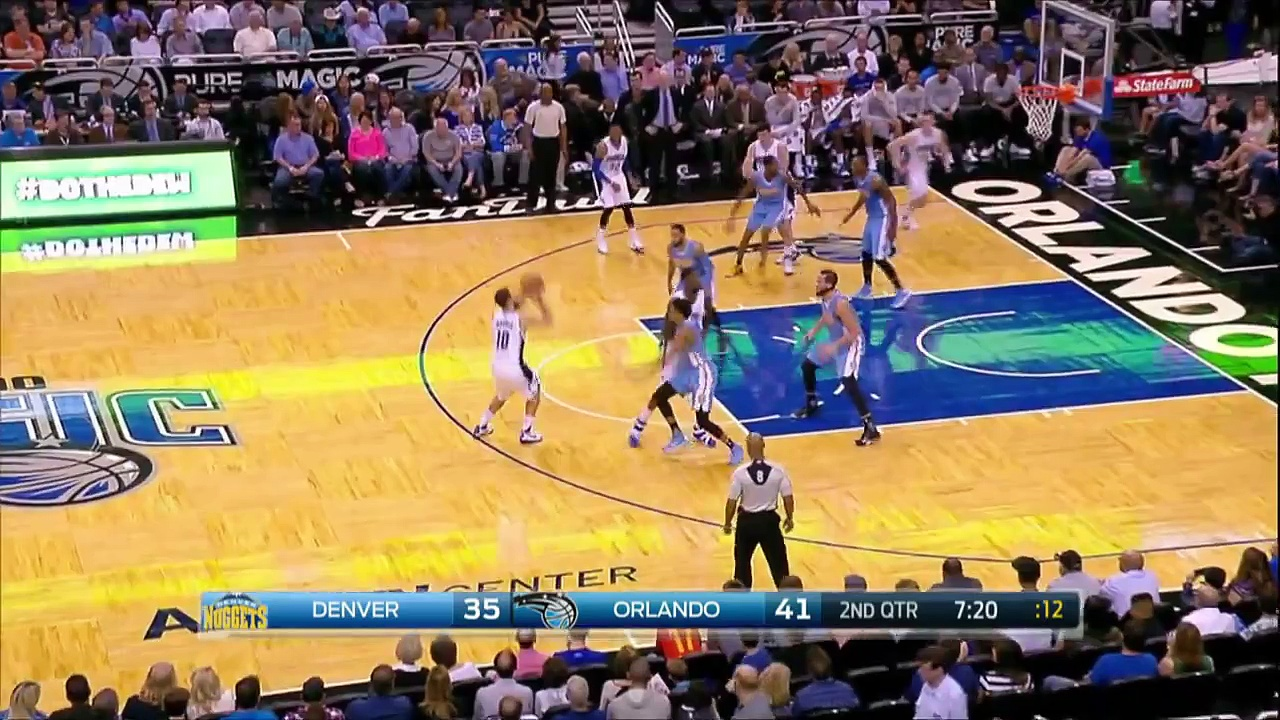 Denver Nuggets vs Orlando Magic – Full Highlights – March 15, 2016 – NBA 2015-16 Season