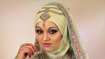 Gold Glitter Asian Bridal Makeup new I Traditional Asian Bridal Makeup with Gold Glitter - makeup ideas - makeup styles