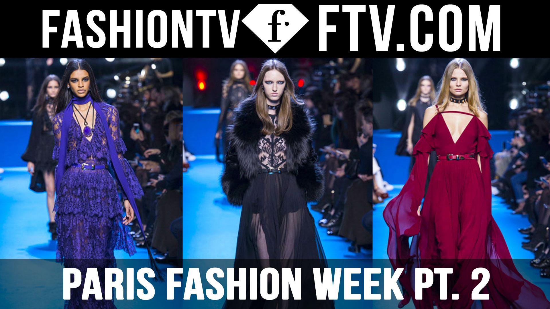 Paris Fashion Week Fall/Winter 2016-17 pt. 2   FTV.com