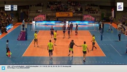 Balle de match Toulouse-Nantes 23/02/2016 + danse de la victoire des Spacer's