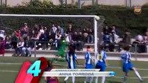Genç Barça'lıdan harika gol!