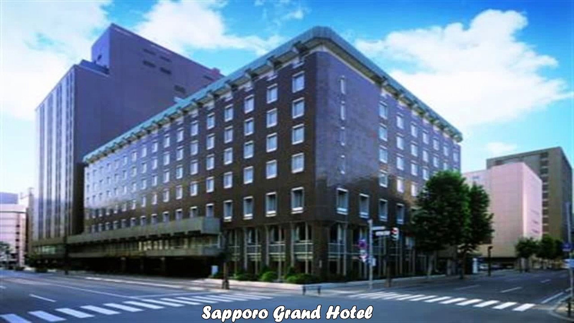 Hotels In Sapporo Sapporo Grand Hotel Japan Video Dailymotion