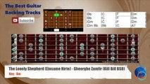 The Lonely Shepherd (Einsame Hirte) Gheorghe Zamfir (Kill Bill BSO) Guitar Backing Track