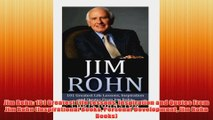 Free PDF Download  Jim Rohn 101 Greatest Life Lessons Inspiration and Quotes From Jim Rohn Inspirational Read Online