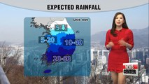 Swings in temperature, rain in the southern regions from tomorrow night