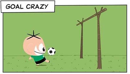 Goal Crazy (T01E25) | Mônica Toy