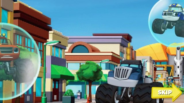 Blaze And The Monster Machines - Race To The Rescue - Blaze And The Monster Machines Games