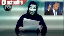 Anonymous déclare la guerre à Donald Trump