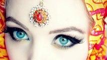 Arabic Doll Makeup-Arabic Makeup Tutorial-Beautiful Arabic Eye makeup-Best Arabic Makeup 2016