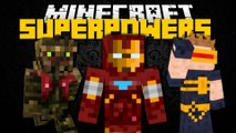 Minecraft Mod Showcase: SUPERHERO MOD (Fantastic Four, Flash, Groot) Brothers