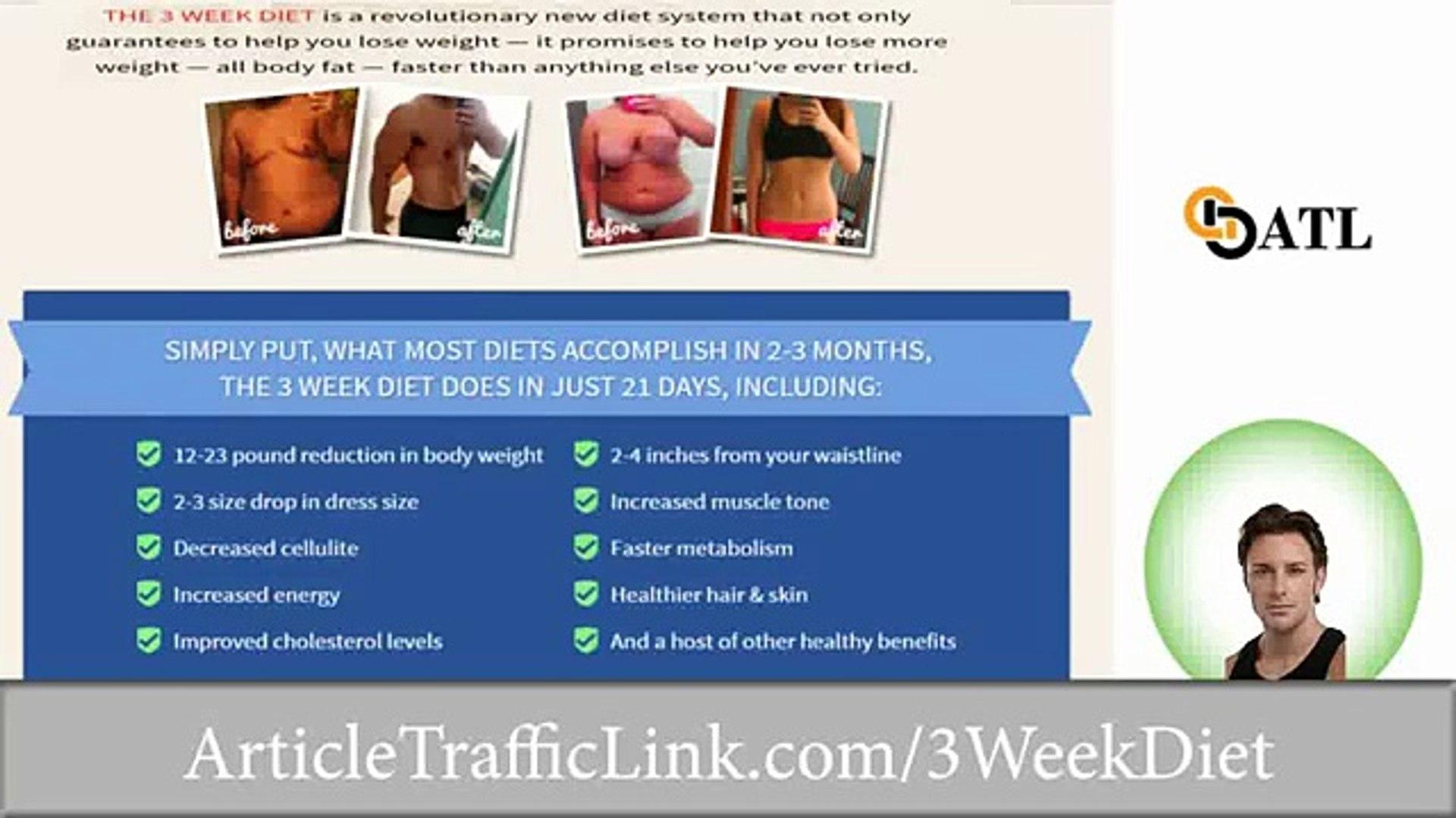 3 Week Diet System Plan Review