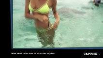 Irina Shayk ultra sexy en bikini s'amuse au milieu des requins, la vidéo buzz !