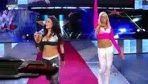 Beth Phoenix and Jillian Hall (w/ Santino Marella and Rosa Mendes) vs. Melina and Kelly Kelly