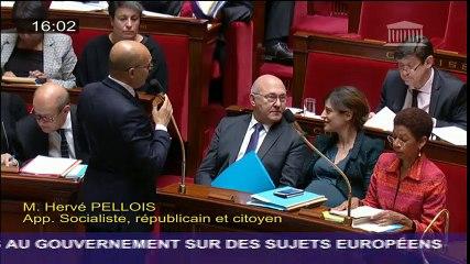 QAG - Harlem Désir - Mise en oeuvre du Plan Juncker dans les territoires français