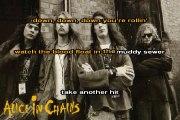 Alice in chains - We die Young (KARAOKE-ASK)