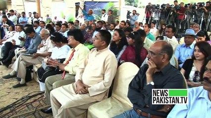 معروف بالی ووڈ اداکار رضا مراد کے اعزاز میں کراچی پریس کلب میں تقریب