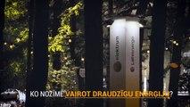 Elektrum Gaismas objektu konkursa uzvarētāju darbi Positivus festivālā