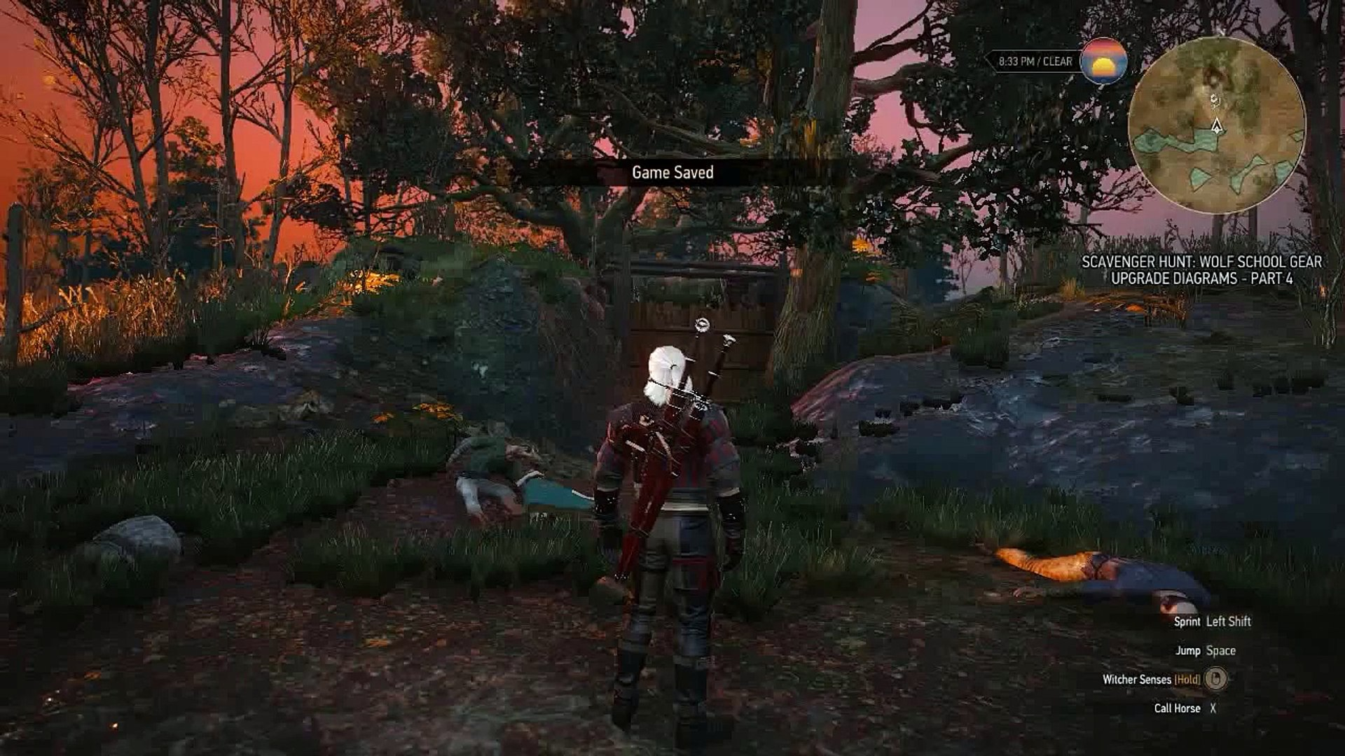 The Witcher 3 Mastercrafted Wolven Armor Location Guide Wolf School Quest Video Dailymotion
