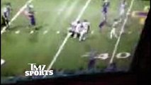 Snoop Doggs Son Cordell Broadus -- Football Star SUSPENDED ... For Cheap Shot in HS Football Brawl