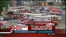 Fire Opened At Navy Yard In Washington DC, Several Dead and Several Injured 16/09/2013