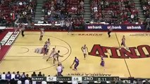 Rashad Vaughn steals a pass and finishes in transition