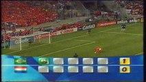 ضربات جزاء مباراة البرازيل و هولندا 1-1 نصف نهائي كاس العالم 1998