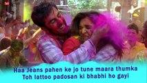 Balam Pichkari Full Song With Lyrics Yeh Jawaani Hai Deewani - Ranbir Kapoor, Deepika Padukone