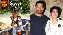 Aamir Khan, Kiran Rao at Kapoor and Sons Special Screening   Events Asia