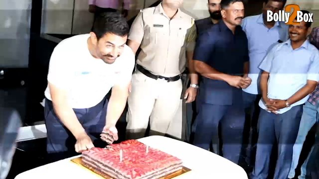 Aamir Khan Celebrates 51st Birthday   Aamir Khan Birthday Bash   Bollywood Celebs