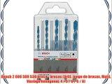 Bosch 2 608 589 530 broca - brocas (Drill Juego de brocas Multi Vástago hexagonal 4 / 5 / 6