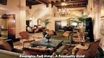 Hotels in San Francisco Kensington Park Hotel A Personality Hotel California