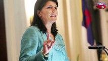Indian-American Nikki Haley Endorses Republican Candidate Ted Cruz