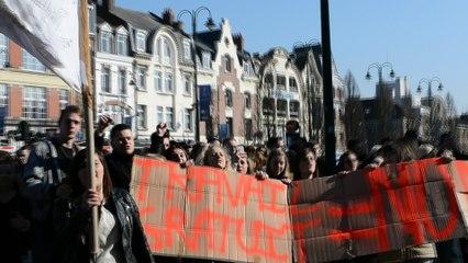 manifestation des lycéens lensois