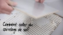 Comment coller du carrelage de sol ?