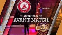 Avant-Match - J24 - Orléans se déplace à Chalon