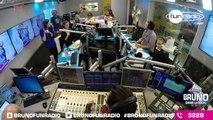 La Roue du De´fi s'acharne sur Bruno (17/03/2016) - Best Of en Images de Bruno dans la Radio