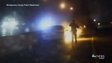 Cops Save Man From Burning Car [DASH CAM VIDEO]