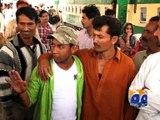 Nine Pakistani fishermen released from Indian jails arrive in Karachi -17 March 2016