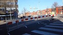 Waterlek zorgt voor problemen op de Eeldersingel in Stad - RTV Noord