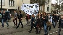 Les lycéens nantais contre la loi travail