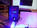 Worlds Most Powerful Visible Handheld laser  Video.