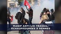 Manifestation contre la Loi Travail: Des échauffourées éclatent à Rennes