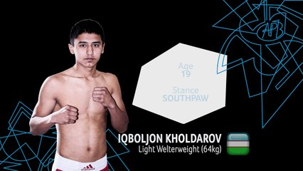 APB Boxer Profile - 64 kg Kholdarov