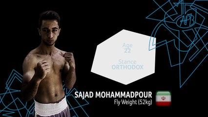 APB Boxer Profile - 52 kg Mohammadpour