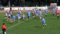 Essai du Stade Toulousain Rugby Féminin face à Castres 1