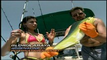 Deep Sea Fishing - the girls go looking for sharks
