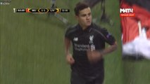 1-1 Philippe Coutinho Goal - Manchester United 1 - 1 Liverpool - Europa League 17.03.2016
