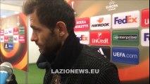 Lulic in zona mista dopo Lazio Sparta Praga (17.03.2016)